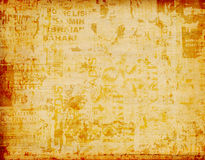 Grunge abstract background with posters Royalty Free Stock Images