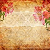 Grunge abstract background with wallpaper stock image