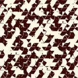 Grunge abstract behang Glitch textuur Naadloos oppervlaktepatroon met gebroken vormen Verontruste geometrische cijfers stock illustratie