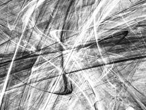 Grunge abstract black white background. On white backdrop. Two colors. Rectangular horizontal shape. Average rough noise design Royalty Free Stock Photography