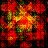 Grunge abstract checkerboard background Stock Image