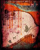 Grunge abstract design Royalty Free Stock Image