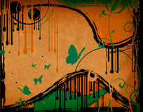 Grunge abstract design Royalty Free Stock Images