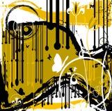 Grunge abstract design Stock Photos