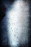 Grunge abstract droplet rain background Stock Photo