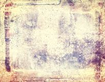 Grunge abstract frame background with pipes. Copy space. Stock Image
