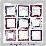 Grunge abstract frames. Stock Photography