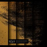 Grunge Abstract Gold Background Stock Photos