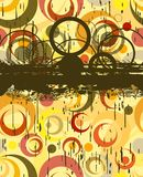 Grunge abstract illustration Royalty Free Stock Images
