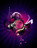 Grunge abstract  illustration Royalty Free Stock Photo
