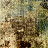 Grunge abstract newspaper background for design Royalty Free Stock Photography