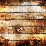 Grunge abstract newspaper background for design Royalty Free Stock Image