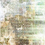 Grunge abstract newspaper background Stock Photo