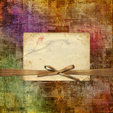 Grunge abstract newspaper background for design Stock Photography