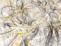 Grunge abstract orange background on white backdrop. Grunge abstract black and orange background on white backdrop. Three colors. Rectangular horizontal shape Royalty Free Stock Photo
