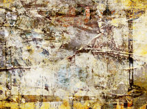 Grunge abstract poster wall background Stock Photography