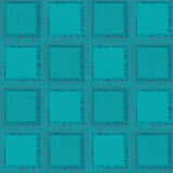 Grunge Abstract Seamless Pattern. Turquoise squares Royalty Free Stock Image