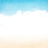 Grunge abstract summer background Royalty Free Stock Images