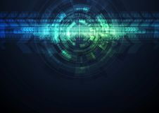 Grunge abstract technology background Royalty Free Stock Image
