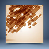 Grunge geometric  abstract background Royalty Free Stock Photos