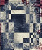 Grunge abstract textured collage Royalty Free Stock Photo