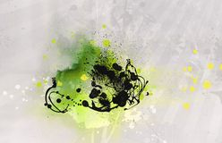 Grunge abstract textured  collage Stock Image