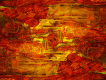 Grunge abstract textured mixed media collage, art Stock Photography