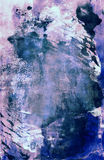 Grunge abstract textured mixed media collage, art Royalty Free Stock Photos
