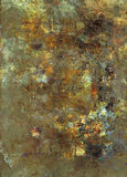 Grunge abstract textured mixed media collage, art Royalty Free Stock Photography