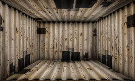 Grunge Abstract Urban Metallic Room Stage Background Royalty Free Stock Photo