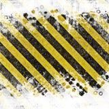 Grunge abstracte achtergrond voor voorzichtigheid of in aanbouw illustraties royalty-vrije illustratie