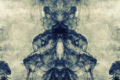 Grunge abstracte geweven gemengde media collage, art. royalty-vrije illustratie