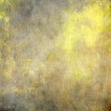 Grunge abstracto del color del amarillo del fondo del oro Imágenes de archivo libres de regalías