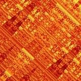 Grunge abstrait de fractale Fond d'art Effet de style ancien Texture de papier psychédélique Élément artistique de conception Con Photo libre de droits