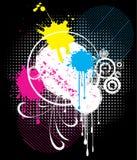 Grunge abstraite Photo libre de droits