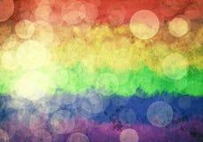 Grunge abstrakta Pride Background Fotografering för Bildbyråer