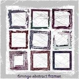 Grunge abstrakta ramy. Fotografia Stock