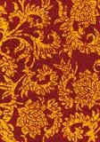 Grunge abstrakter dekorativer mit Blumenhintergrund, Vektorillustratio Stockbilder