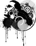 Grunge abstrato ilustração royalty free