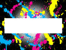 Grunge abstrato Imagem de Stock