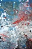 Grunge abstrato fundo pintado da parede Fotos de Stock Royalty Free