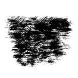 Grunge abstrato textura riscada pintada Fotografia de Stock
