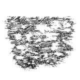 Grunge abstrato textura riscada pintada Fotos de Stock Royalty Free