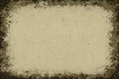 Grunge achtergronddocument kader Royalty-vrije Stock Afbeeldingen