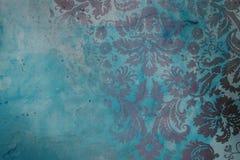 Grunge adamaszkowy tło Obraz Royalty Free