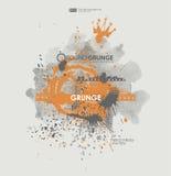 Grunge affischbakgrund Arkivbild