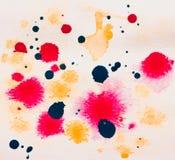 Grunge akwareli abstrakcjonistyczny tło. Zdjęcia Stock