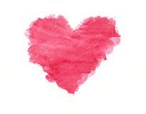 Grunge akwareli różowy kierowy obraz ilustracji