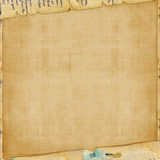 Grunge alienated paper design. In scrapbooking style Stock Photos
