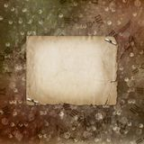 Grunge alienated paper design Royalty Free Stock Photography